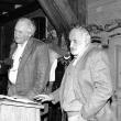 mit Vilém Flusser, 1986