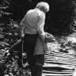 auf einem Waldweg in Weissen, 1993