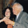 mit Tochter Caroline am 80.Geburtstag, 2003