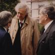 mit Golo Mann in Bad Wurzach, 1985
