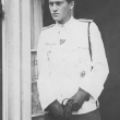 nach der Verwundung im Lazarett, 1944