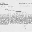 Rückzahlungsbescheid der Promotionsgebühren, 1949