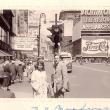 mit Helge Pross am Broadway, 1952