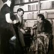mit Heddy Pross-Werth und Erika Mann in Stuttgart, 1955