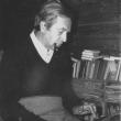 am Schreibtisch in Weissen, Winter 1978/79