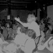 der Maler und Bildhauer Kurt Passon beim Kornhaus-Seminar, 1986