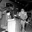 Vilém Flusser und Salcia Landmann beim Kornhaus-Seminar, 1987