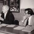 mit Abraham Moles beim Kornhaus-Seminar, 1987