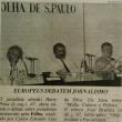 mit Ivan Bystrina auf einem Kongress in Sao Paulo, 1990