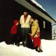 mit Christa Dericum und den Söhnen Roland und Michael, 1974
