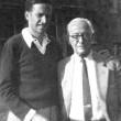 mit Jakob Picard, 1954