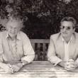 mit Vicente Romano, 1985