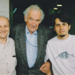 mit Norval Baitello und dessen Sohn Ricardo in Sao Paulo, 1997